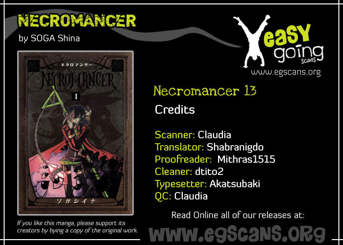 Necromancer 13 Page 1