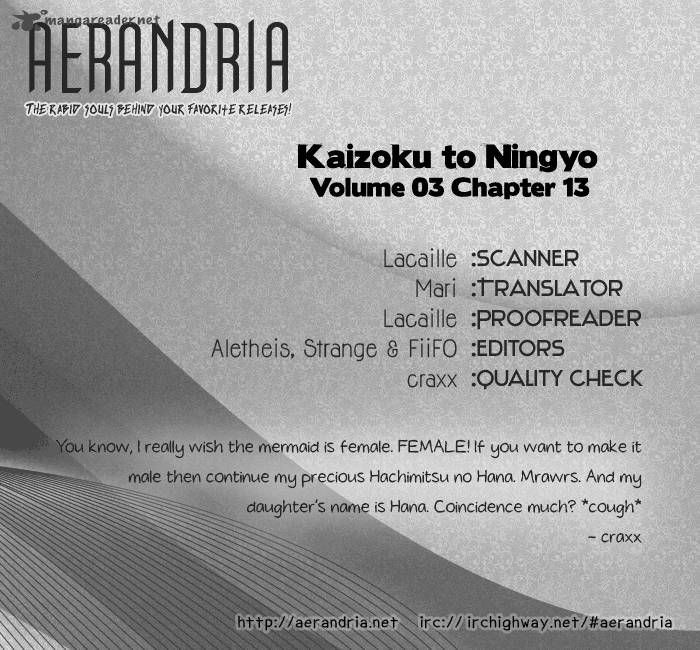 Kaizoku To Ningyo 13 Page 2