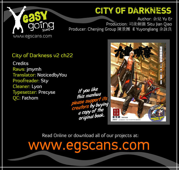City Of Darkness 54 Page 1